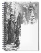 New York: Artist, 1882 Spiral Notebook