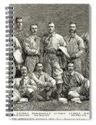 New York Baseball Team Spiral Notebook