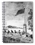 New York: Battery, 1793 Spiral Notebook