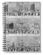 New York: Broadway, 1851 Spiral Notebook