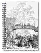 New York: Broadway, 1852 Spiral Notebook