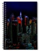 New York By Moonlight Spiral Notebook