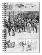 New York: Camp Wikoff, 1898 Spiral Notebook