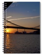 New York City Sunrise Spiral Notebook