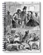 New York: Dog Pound, 1866 Spiral Notebook