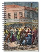 New York: Draft Riots 1863 Spiral Notebook