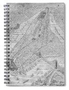 New York: El Train, C1878 Spiral Notebook