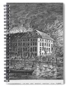 New York: Fire Of 1835 Spiral Notebook