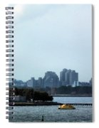 New York Harbor Spiral Notebook