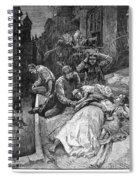 New York: Heat Wave, 1883 Spiral Notebook