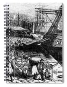 New York: Immigrants, 1854 Spiral Notebook