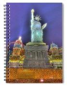 New York In Las Vegas Spiral Notebook