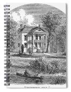 New York: Mansion, 1760 Spiral Notebook
