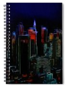 New York Midnight Spiral Notebook
