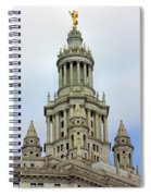 New York Municipal Building Spiral Notebook
