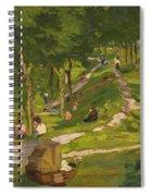 New York Park Spiral Notebook