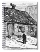 New York: Shanty, 1875 Spiral Notebook