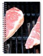 New York Steak Spiral Notebook