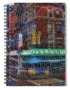New York Street Spiral Notebook