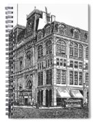 New York: Theater, 1869 Spiral Notebook
