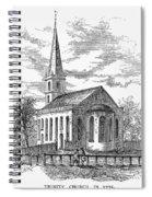 New York: Trinity Church Spiral Notebook