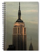 New York Watercolor 1 Spiral Notebook