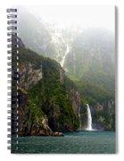 New Zealand's Milford Sound Spiral Notebook
