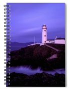Newcastle, Co Down, Ireland Lighthouse Spiral Notebook