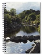 Newcastle, Shimna River, Co Down Spiral Notebook