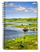 Newfoundland Landscape Spiral Notebook