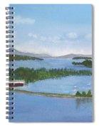 Newport Vermont Aerial Spiral Notebook