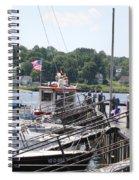 Newport Vermont Marina Spiral Notebook