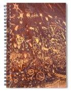 Newspaper Rock Spiral Notebook