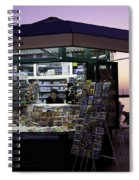 Newsstand In Croatia Spiral Notebook