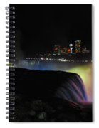 Niagara Falls American Side Spiral Notebook