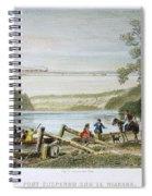 Niagara Falls Bridge Spiral Notebook