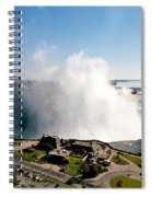 Niagara Falls From Above Spiral Notebook