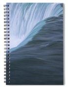Niagara Horseshoe Falls Ontario. No 86 Spiral Notebook