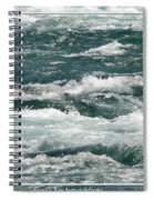 Niagara River Rapids 2 Spiral Notebook