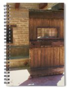 Nice Old Door Spiral Notebook