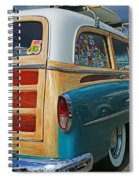 Nice Old Woody Spiral Notebook