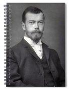 Nicholas II From Russia Spiral Notebook