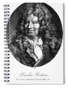 Nicolas Boileau (1636-1711). French Critic And Poet. Lithograph, French, 19th Century Spiral Notebook