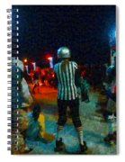 Night At The Roller Derby Spiral Notebook