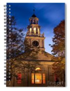 Night Church Spiral Notebook