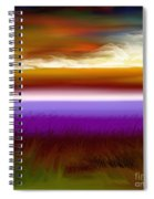 Night Falls Spiral Notebook
