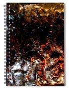 Night Ice Spiral Notebook