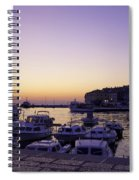 Night In Rovinj Spiral Notebook