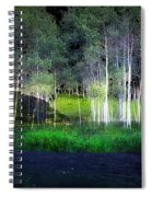Night Magic I Spiral Notebook