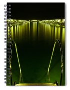 Night. One Day In Paradise. Maldives Spiral Notebook